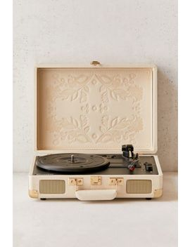 Crosley Uo Exclusive Folklore Floral Cruiser Bluetooth Record Player by Crosley