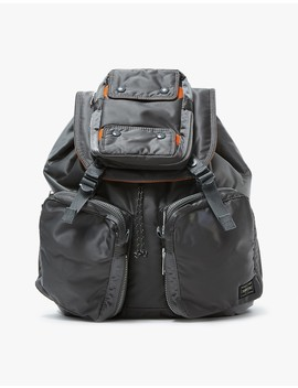Tanker Rucksack In Silver Grey by Porter Yoshida & Co.