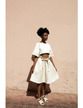 Chelsea Bravo  Curly Waist Skirt by Garmentory