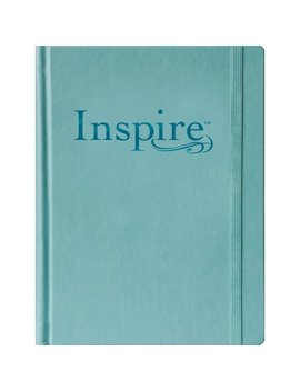 Inspire Bible Large Print Nlt : The Bible For Coloring & Creative Journaling by Tyndale; Christian Art
