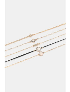 Pack Of Thin Chain Bracelets by Ardene