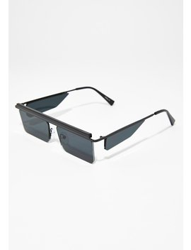 Midnight Future Faded Sunglasses by Fame Accessories