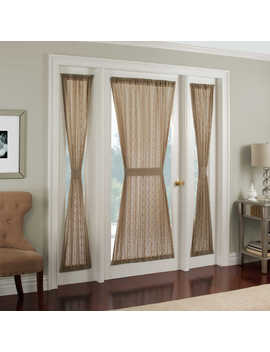 Crystal Brook Door Panel by Bed Bath And Beyond