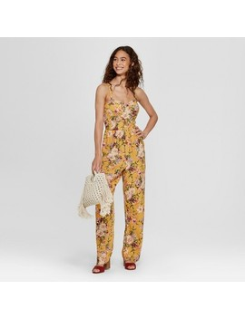 Women's Strappy Cup Floral Jumpsuit   Xhilaration™ by Shop All Xhilaration™
