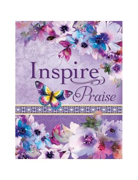 Inspire Praise Bible Nlt : The Bible For Coloring & Creative Journaling by Tyndale; Christian Art