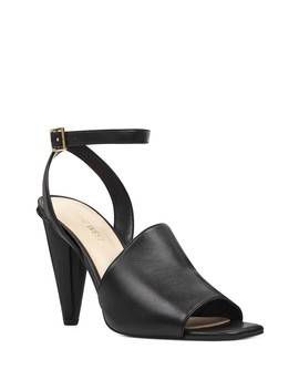 Quilty Cone Heel Sandal by Nine West