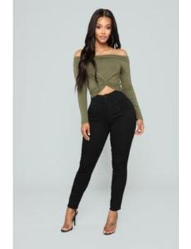 Miranda Waist Sculpting Jeans   Black by Fashion Nova