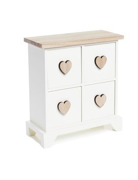 Wilko Heart Storage Drawers by Wilko