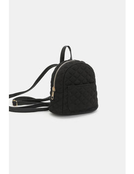 Quilted Mini Backpack by Ardene