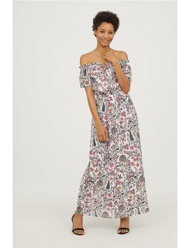 Lange Off The Shoulderjurk by H&M