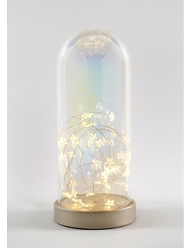 Large Led Glass Dome (25cm X11cm) by Matalan