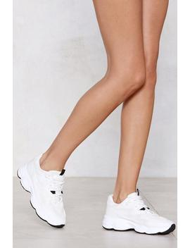 Bubble Maker Chunky Sneaker by Nasty Gal