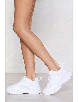 Chunk Down With Me Sneaker by Nasty Gal