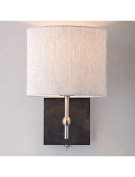 John Lewis Jack Wall Light, Slate by John Lewis