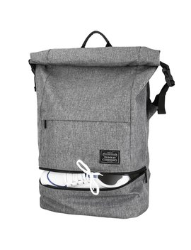 Lifeasy Anti Theft Laptop Backpack 15.6in Waterproof Business Rucksack Roll Top Casual Daypack Travel Bag For Men & Women (Grey, S) by Amazon