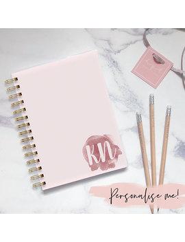 Personalised Planner ~ 2018 Custom Planner ~ Daily Planner 2018 ~ Weekly Planner ~ Monthly Planner ~ 2018 Diary ~ Hoard Pretty Things by Hoard Pretty Things