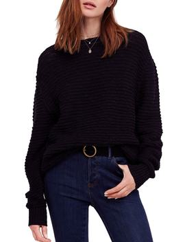 Menace Solid Tunic Sweater by Free People