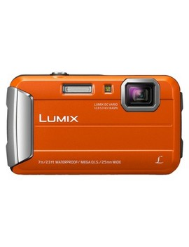 Panasonic Lumix Ts25 16 Mp Waterproof Digital Camera With 4x Optical Zoom   Orange by Shop All Panasonic