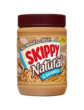 Skippy Natural Creamy Peanut Butter Spread, 26.5 Ounce by Skippy