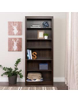 Prepac Furniture Espresso  6 Shelf Bookcase by Lowe's