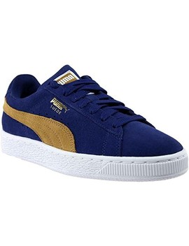 Puma Women's Suede Classic Wn, Blue Depths Apple Cinnamon, 8.5 M Us by Puma