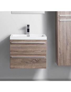 "Foundry Select Bolivia 24"" Single Bathroom Vanity Set by Foundry Select"