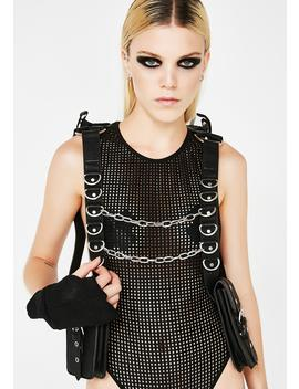 Into Oblivion Hooded Holster Bag by Club Exx