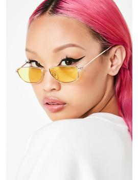 Sly Eyes Rectangle Sunglasses by Lucent