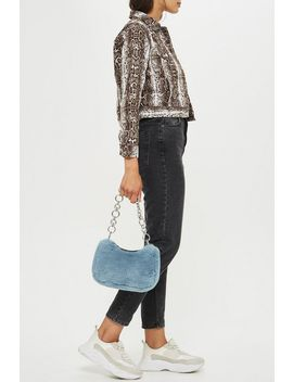 Faux Fur Shoulder Bag by Topshop
