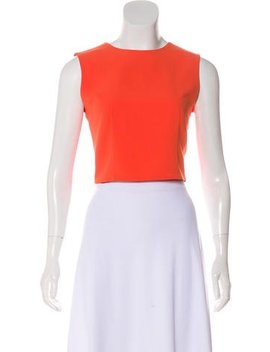 Alice + Olivia Sleeveless Crop Top by Alice + Olivia