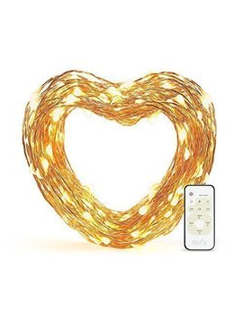 Eufy 33 Ft Led Decorative Lights Dimmable With Remote Control, Starlit String Lights, Indoor And Outdoor, For Holiday, Wedding, Party (Copper Wire, Warm White) by Eufy