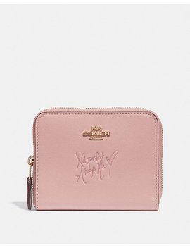 Selena Small Zip Around Wallet In Colorblock by Coach