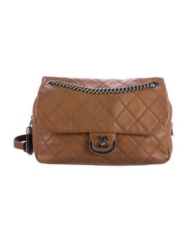 Chanel Paris Edinburgh Coco Sporran Large Flap Bag by Chanel
