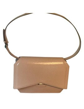 Bow Cut Clutch Medium Nude Leather Shoulder Bag by Givenchy