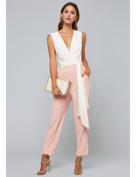 2 Tone Jumpsuit by Bebe