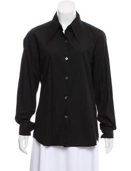 ann-demeulemeester-tailored-button-up by ann-demeulemeester