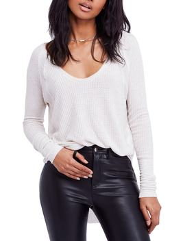 Catalina V Neck Thermal Top by Free People