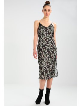 Army Midi Slip Dress   Cocktailkjoler / Festkjoler by Na Kd