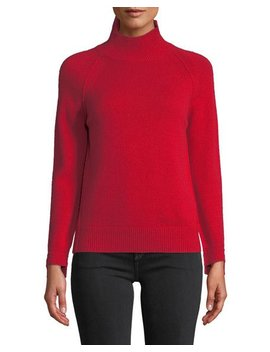 Cashmere Raglan Turtleneck Sweater by Helmut Lang