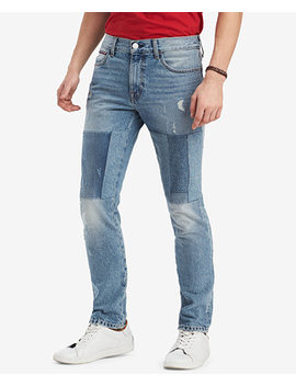 Men's Straight Fit Dale Jeans, Created For Macy's by Tommy Hilfiger Denim