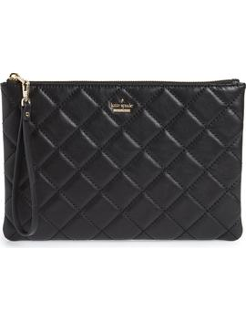 Emerson Place Filey Quilted Leather Clutch by Kate Spade New York