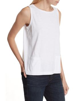 Short Organic Cotton Shell by Eileen Fisher