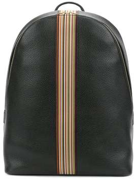 Signature Stripe Backpackhome Men Bags Backpacks by