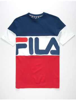 Fila Vialli Mens T Shirt by Fila