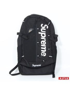 100 Percents Authentic Supreme Box Logo Backpack 210 D Cordura Ripstop Spring Summer Ss17 by Supreme