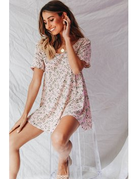 Vg Market Day Tie Back Mini Dress // Rose by Vergegirl