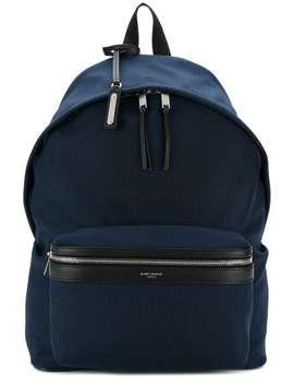 Saint Laurentclassic Zipped Backpack Home Men Saint Laurent Bags Backpacks by Saint Laurent