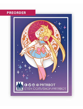 Sailor Moon: Henshin Pin 2inch by Patabot