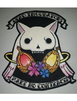 Puella Magi Madoka Magica Punk Back Patch by Nox Shop
