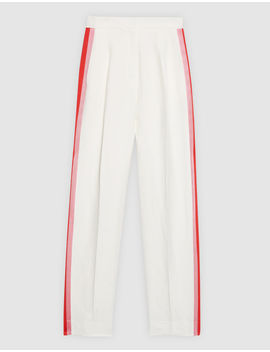 Trousers With Braid Trim On The Sides by Sandro Eshop